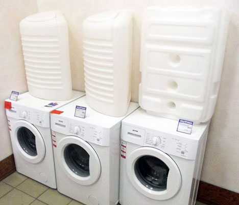 Variétés de machines à laver avec réservoir externe