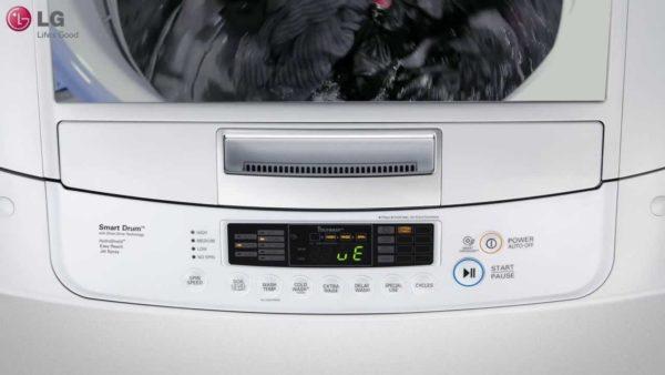 LG Çamaşır Makinesi Ekranı