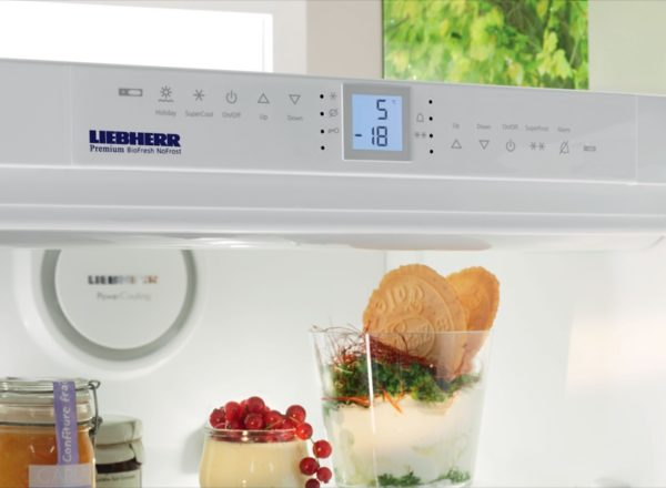 Réfrigérateurs avec indicateur de température numérique