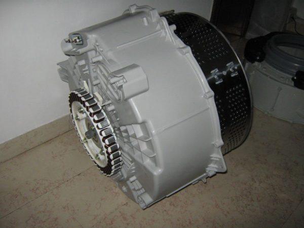 LG çamaşır makinesi tankı