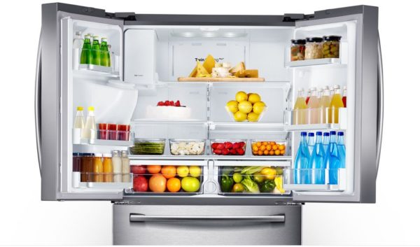 Réfrigérateur Côte à côte Samsung RF24FSEDBSR / WT