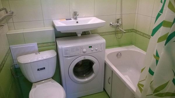 Kompakt maskin under vasken