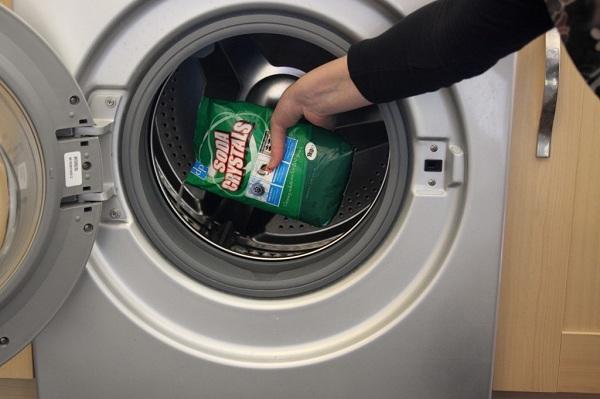 Çamaşır makinesi için soda