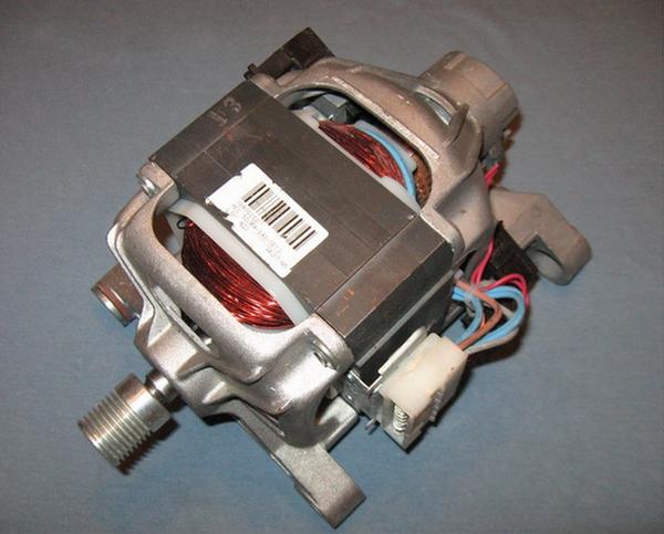 Çamaşır makinesi toplayıcı motoru