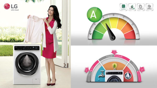 A sınıfı çamaşır makinesi