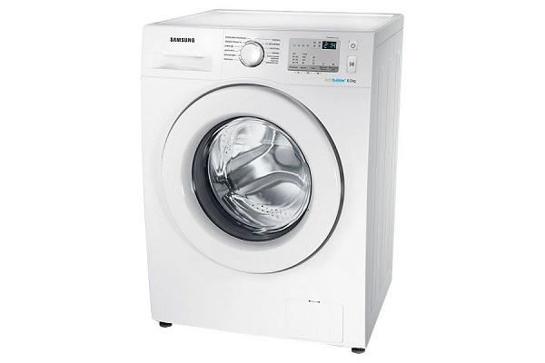 Machine à laver blanche