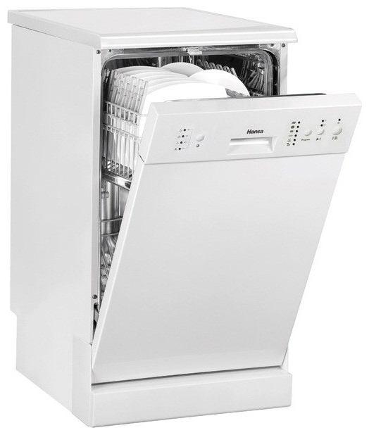 Beyaz bulaşık makinesi