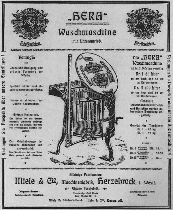 İlk bulaşık makinesi