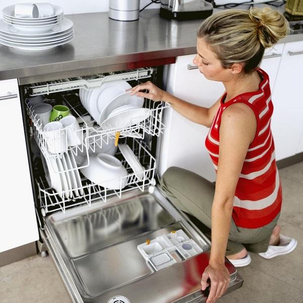 Chargement du lave-vaisselle