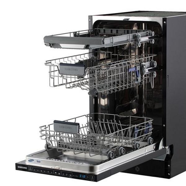 Siyah bulaşık makinesi