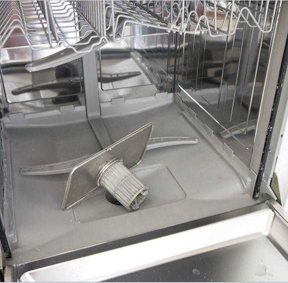 Lave-vaisselle à l'intérieur