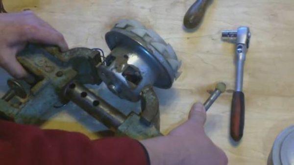 Sıkma rotor