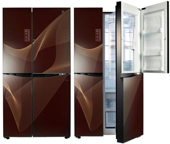 LG Side by Side avec un design de luxe