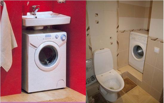 Banyoda makine