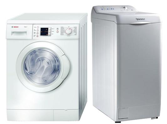 Machines à laver verticales et horizontales