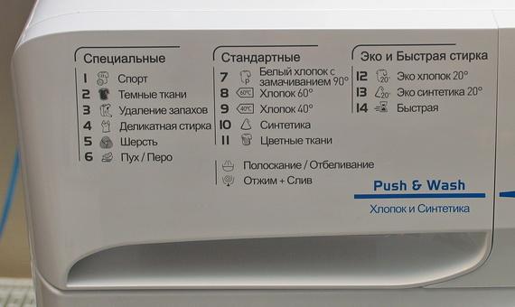 Programmes de lavage