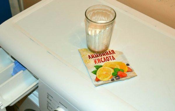 Détartrage de l'acide citrique