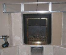 Házi elektromos kandalló