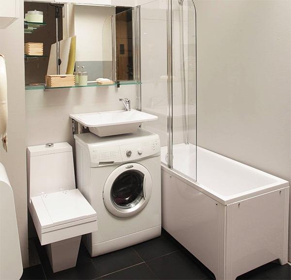 Machine à laver sous l'évier