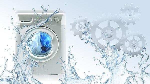 Vaskemaskin og vann
