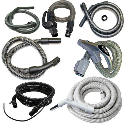 Types de tuyaux pour aspirateur