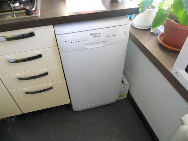 Lave-vaisselle sur pied