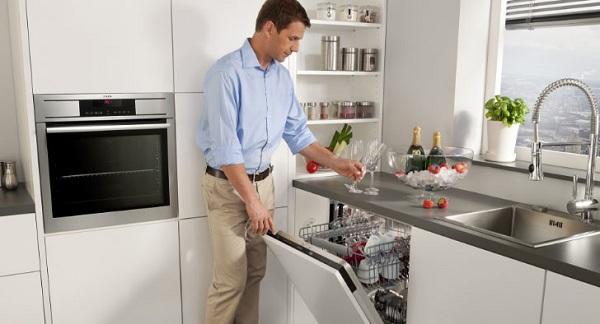 Bulaşık makinesini çalışmak için hazırlamak