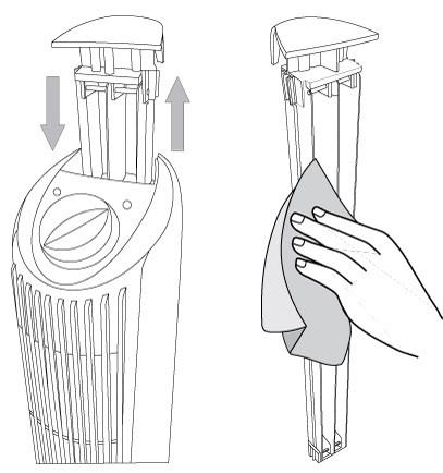 Nettoyage de l'ioniseur Atmos