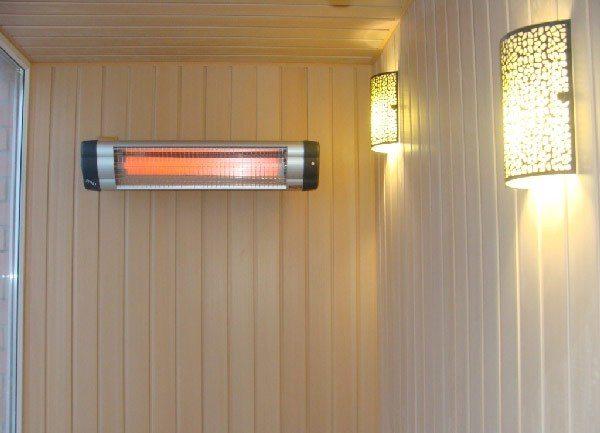 Duvara monte kızılötesi ısıtıcı