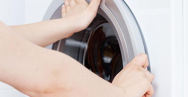 Porte de machine à laver