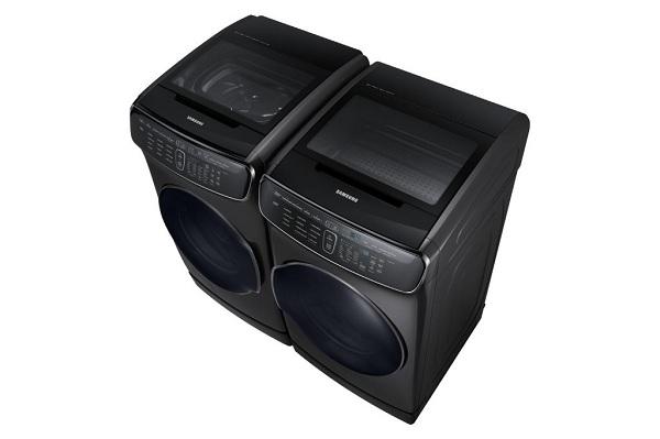 Machine à laver noir