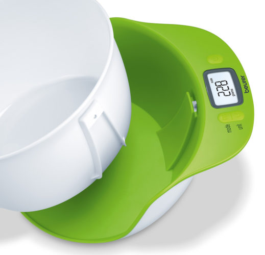 Dispositif avec un bol amovible