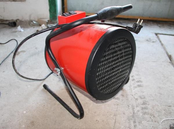 Elektrikli fan ısıtıcı