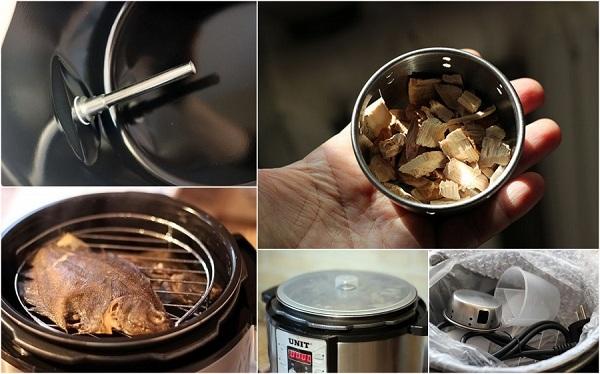 Multicooker avec fonction fumeur