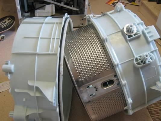 Réservoir de machine à laver pliable