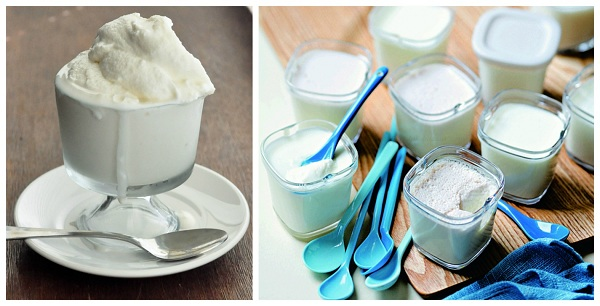 Yoğurt ve dondurma