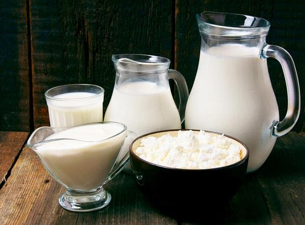 Lait et lait caillé