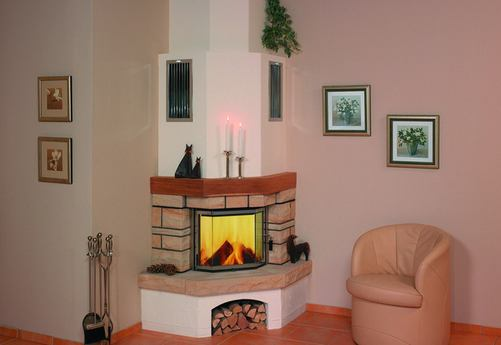 Portal with chimney imitation
