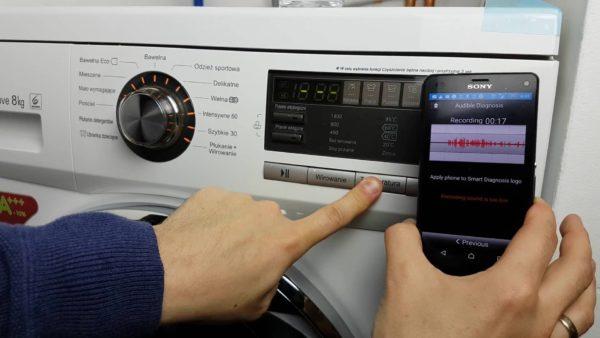 Akıllı teşhis çamaşır makinesi LG
