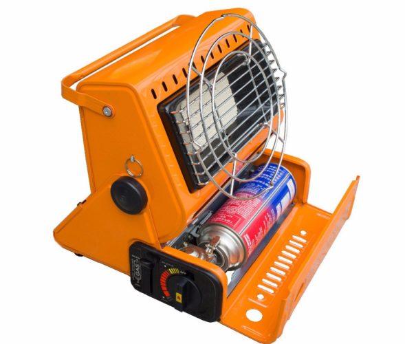 Mini chauffage à gaz