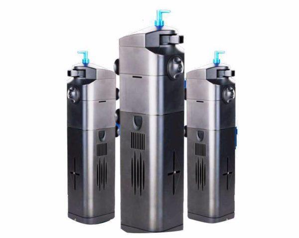 Filtreler içine yerleştirilmiş sterilizatörler