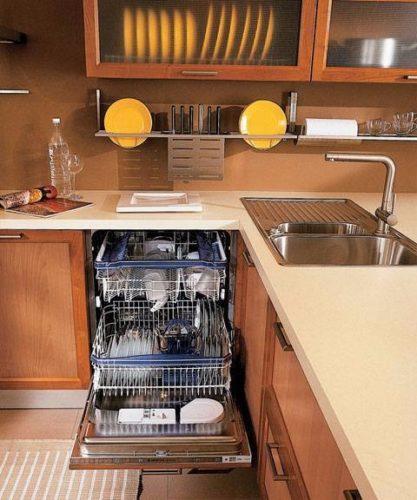L'emplacement correct du lave-vaisselle