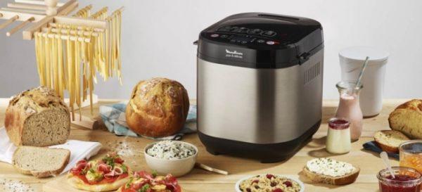 Cuisson dans la machine à pain