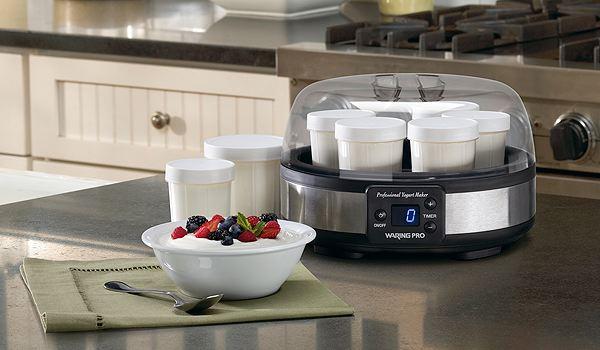 Zamanlayıcı ile yoğurt makinesi