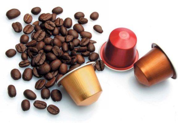 Capsules en aluminium pour machine à café