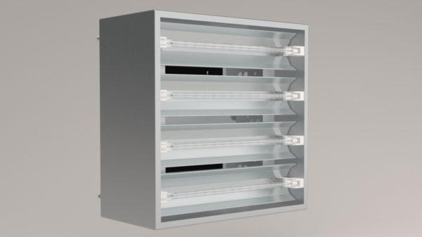 Réchauffeurs infrarouges au tungstène