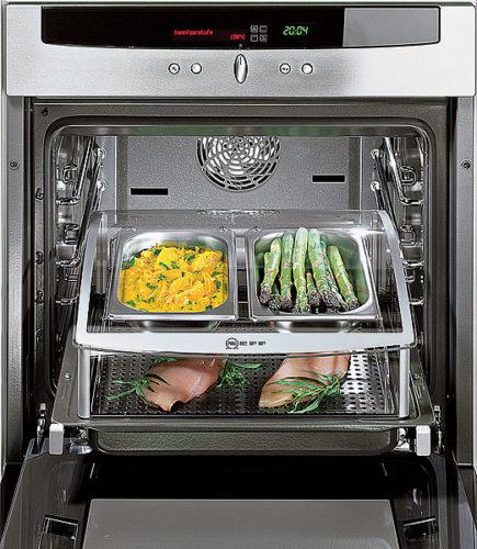 Uttrekkbare design i ovnen