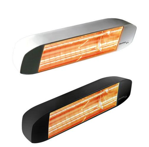 Réchauffeurs infrarouges halogènes