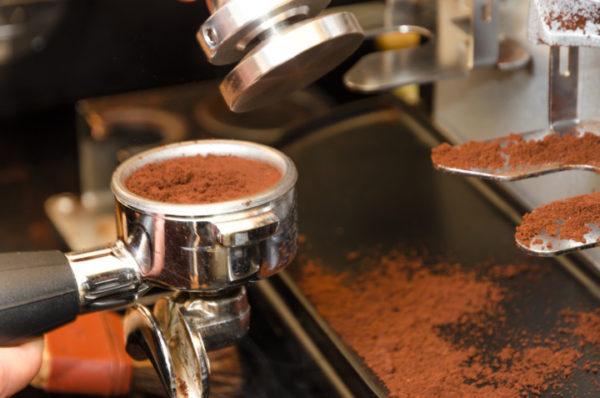 Dose de café par portion dans le cornet