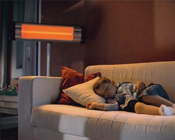Plancher chauffant infrarouge